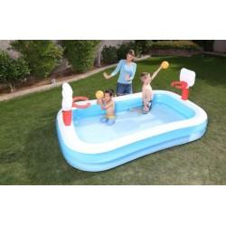 Dětský bazén basketball 254x168x102 cm BESTWAY