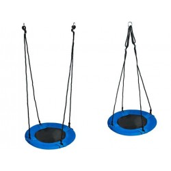5643 Kruhová houpačka 60cm modrá