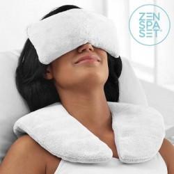 Wellness sada Zen - hřejivý i chladivý polštářek + relaxační obklady