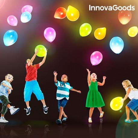 Svítící nafukovací balónky 10ks