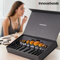 Profesionální oválný set štětců na líčení InnovaGoods (11 dílů)