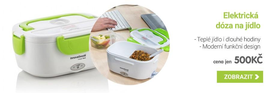 Elektrická dóza na jídlo 40W - Bílo zelená